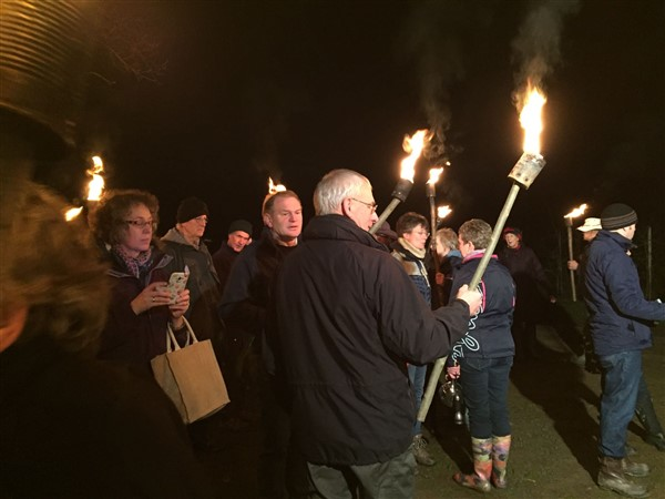 January 2107 Wassail event at Breinton