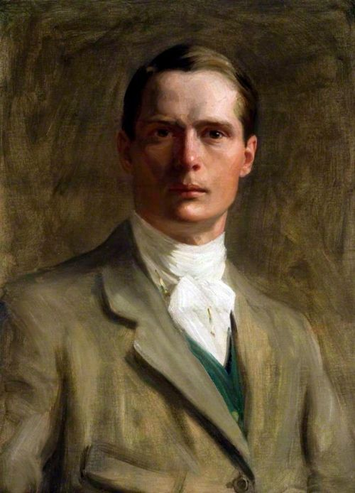 Self Portrait by Brian Hatton, 1908 Copyright Hereford Museum and Art Gallery / Supplied by The Public Catalogue Foundation