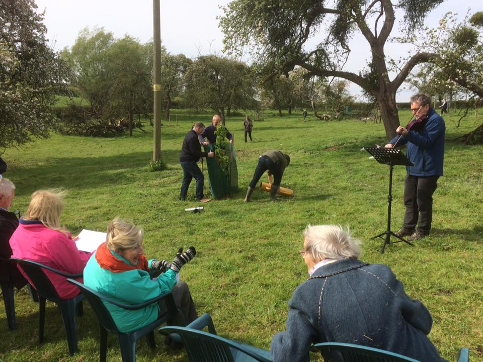 Music in the orchard Parsonage Farm
